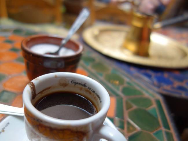 Coffee at Salon de Te